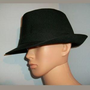 🦃🍭 5 for $25 🍭 BLACK FEDORA HAT
